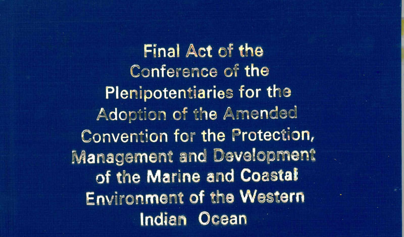 Final Act of the Conference of the Plenipotentiaries for the Adoption of the Protocol for the Protection of the Marine and Coastal Environment of the Western Indian Ocean from Land-Based Sources and Activities